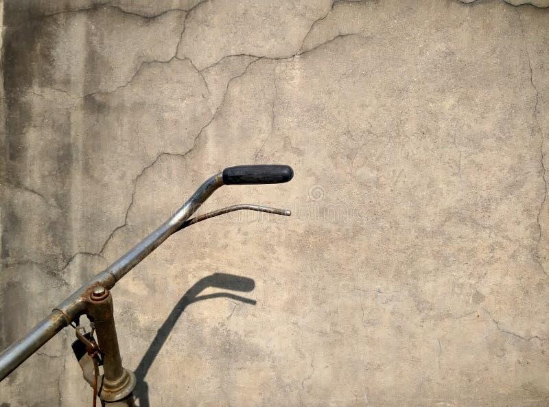 Stary lokalny bicykl fotografia royalty free