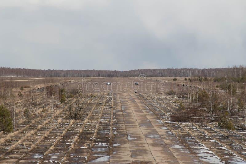 Stary lotnisko zdjęcie stock