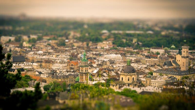 Stary Lviv zdjęcia royalty free