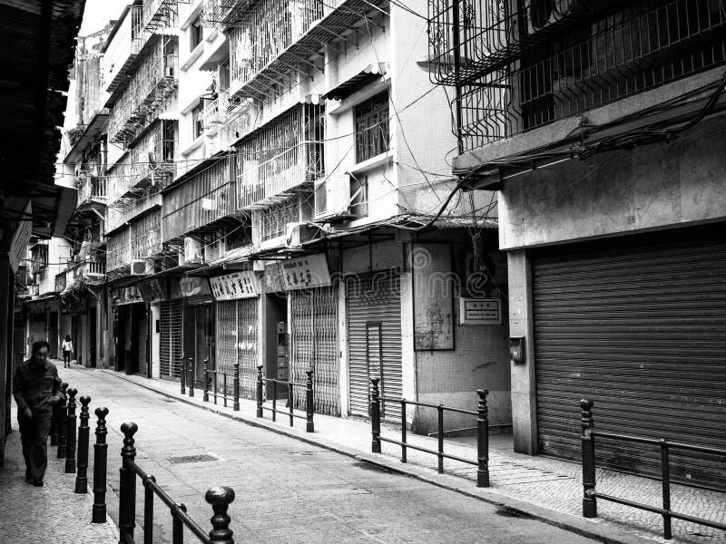Stary Macau obraz royalty free