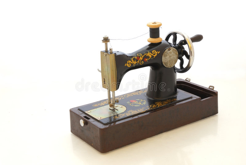 stary maszynowy szyć zdjęcia stock