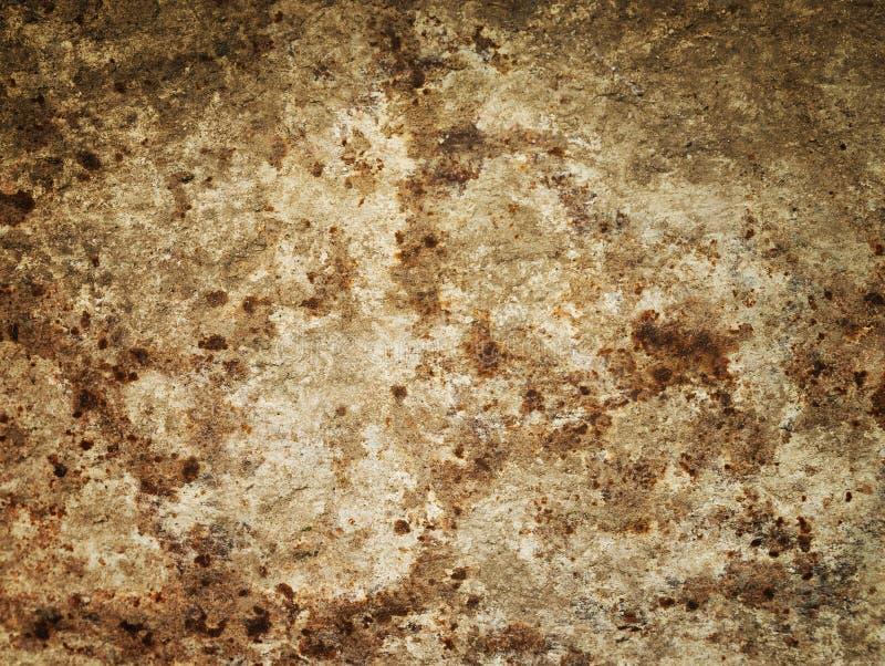 Stary metalu żelaza rdzy tło i tekstura obrazy royalty free