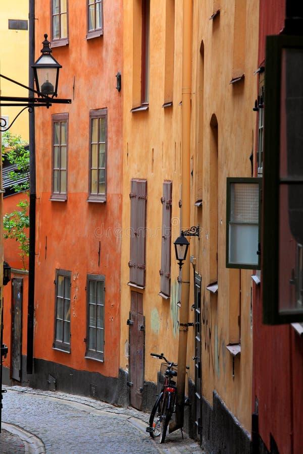 stary miasteczko zdjęcie stock