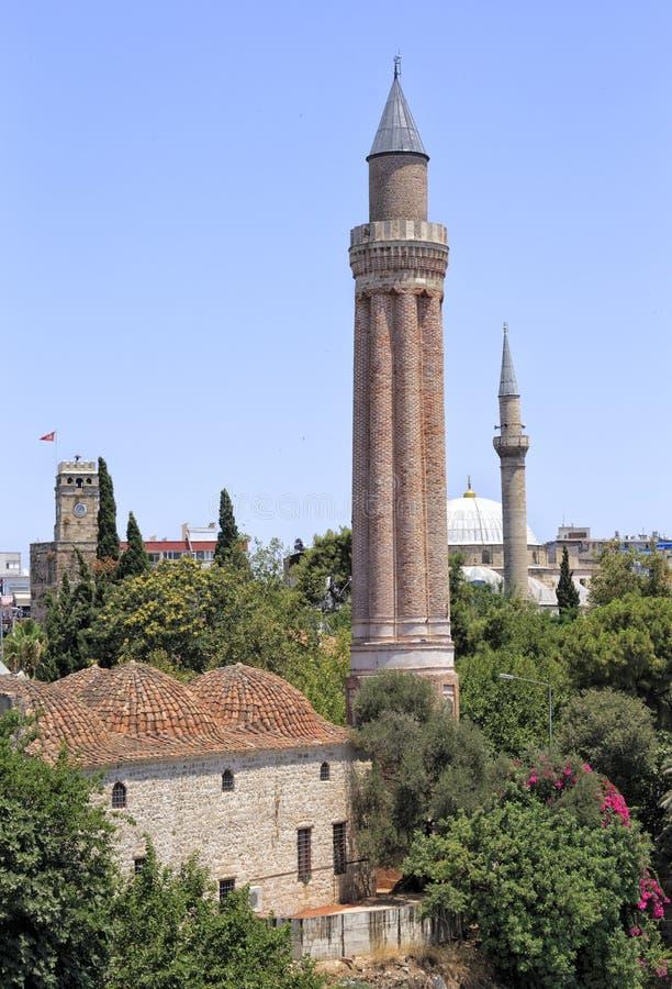 Stary miasteczko Antalya zdjęcia royalty free