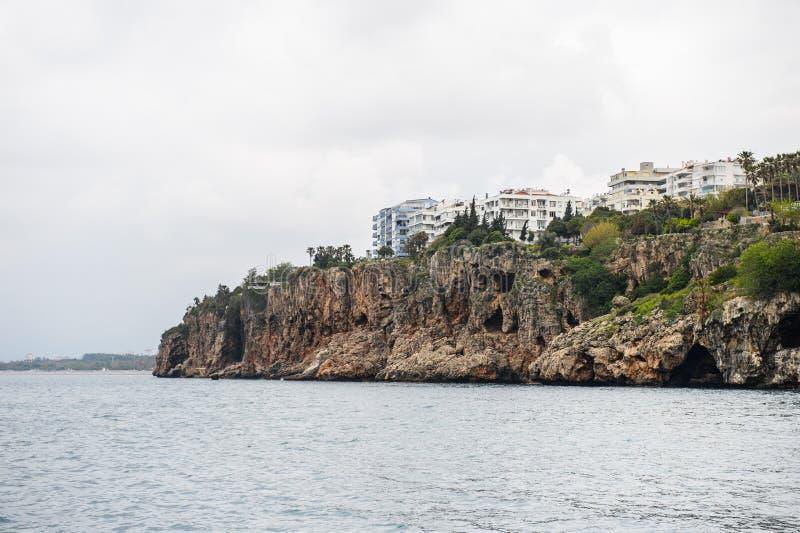 Stary miasteczko Antalya, Turcja zdjęcia royalty free