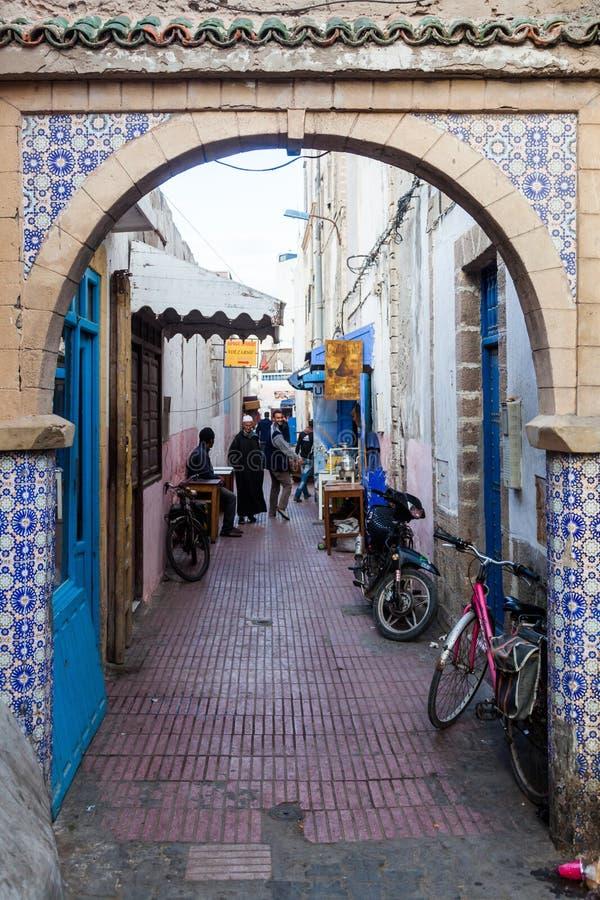 Stary miasteczko Essaouira, Maroko fotografia royalty free