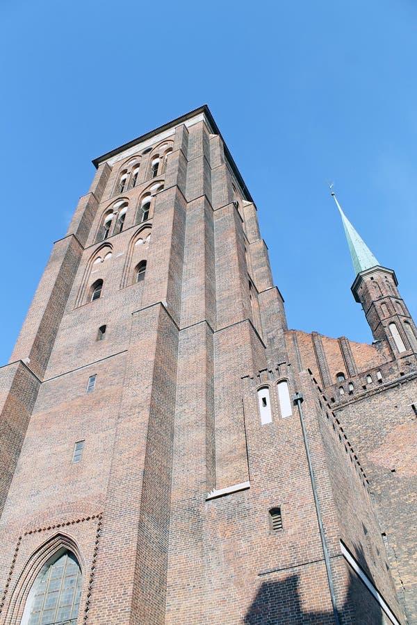 Stary miasteczko Gdański zdjęcie royalty free