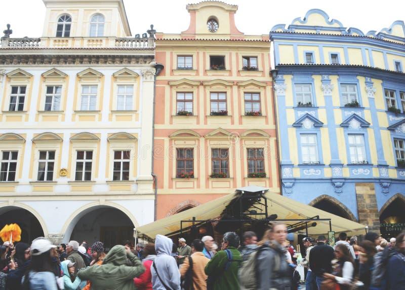 Stary miasteczko, Praga, 2017 obraz stock