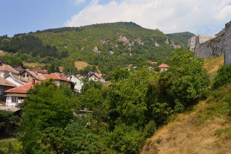 Stary miasteczko w Bośnia i Hercegovin zdjęcie stock