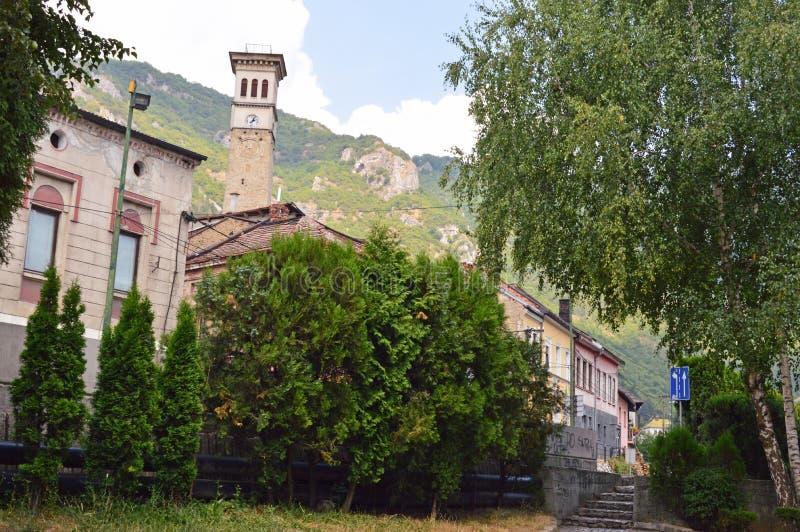 Stary miasteczko w Bośnia i Hercegovin obrazy royalty free