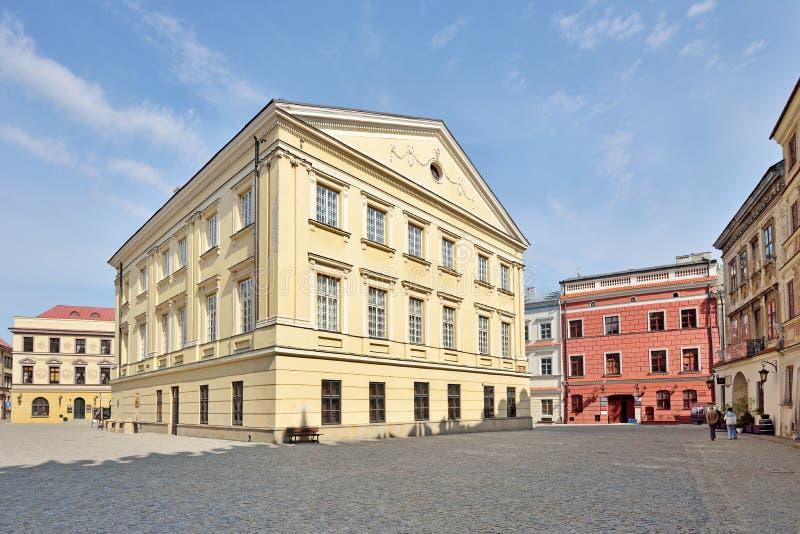 Stary miasteczko w Lublin, Polska obraz royalty free