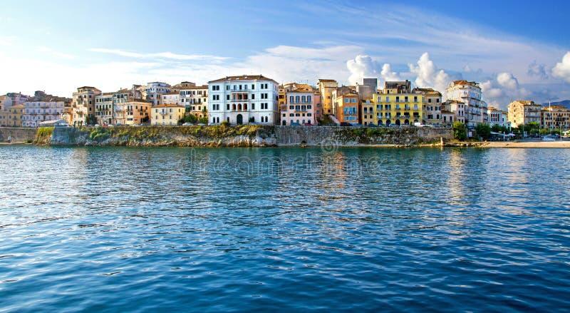 Stary miasto, Corfu, Grecja obrazy royalty free