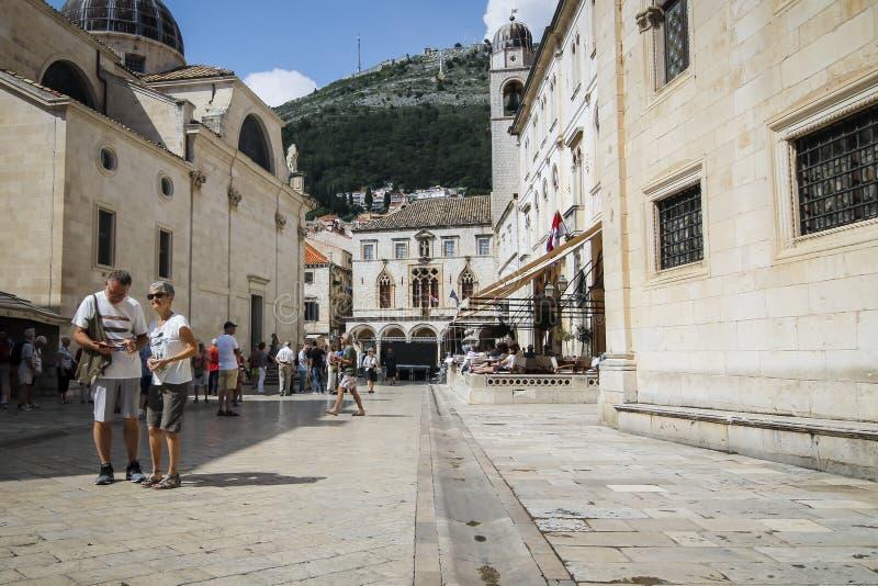 Stary Miasto Dubrovnik w Chorwacja zdjęcia stock