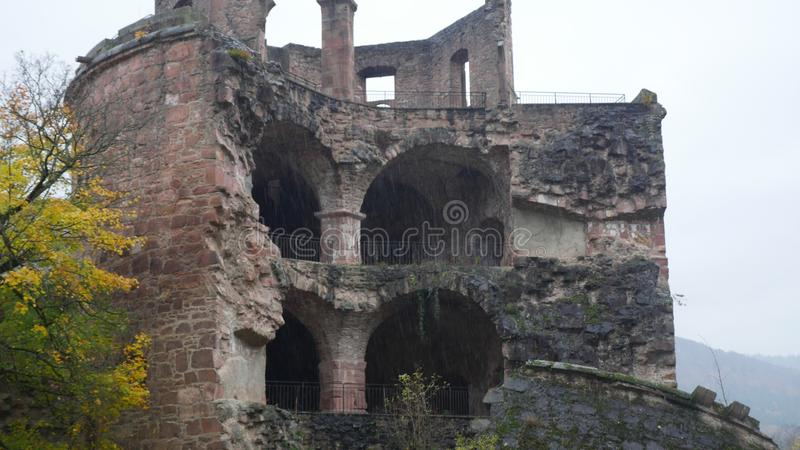 Stary miasto forteca obraz stock