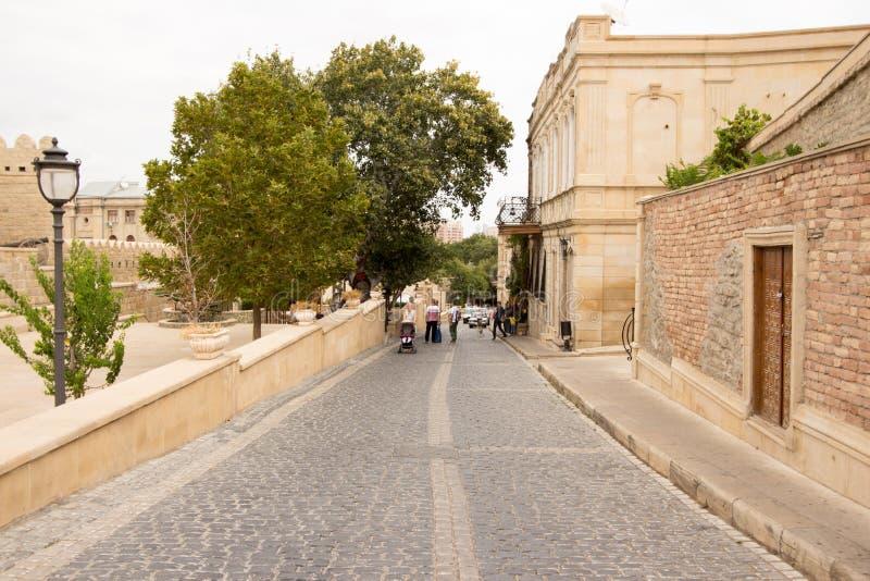 Stary miasto w Baku obraz royalty free