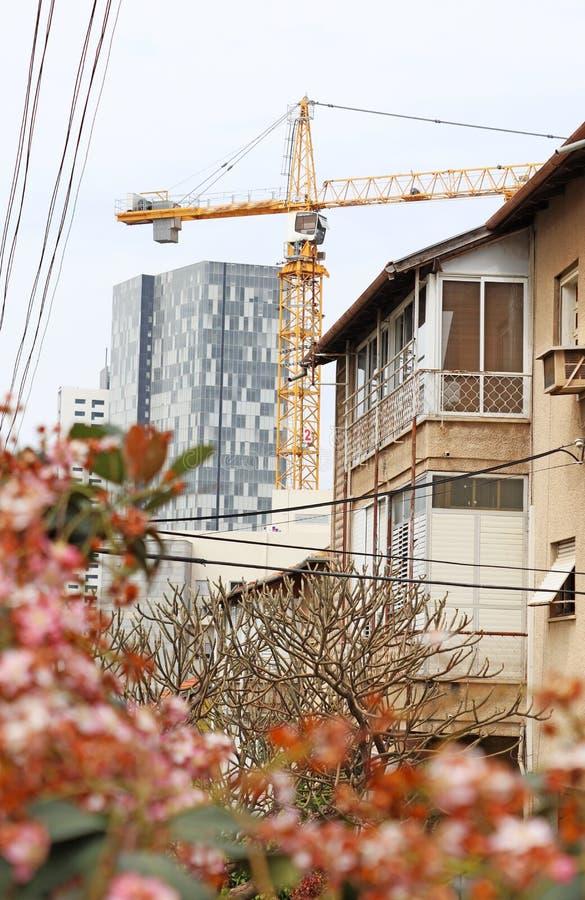 Stary mieszkaniowy sąsiedztwo fotografia royalty free