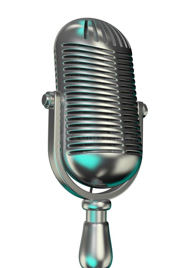 stary mikrofonu zdjęcia stock
