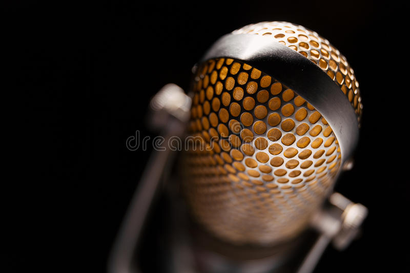 stary mikrofonu zdjęcia royalty free