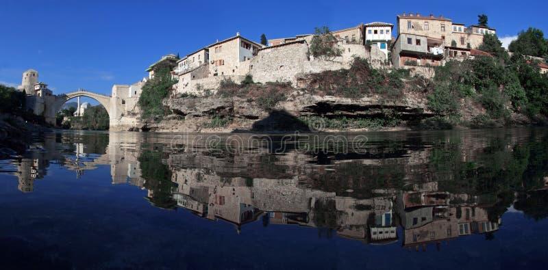stary most Mostar fotografia stock