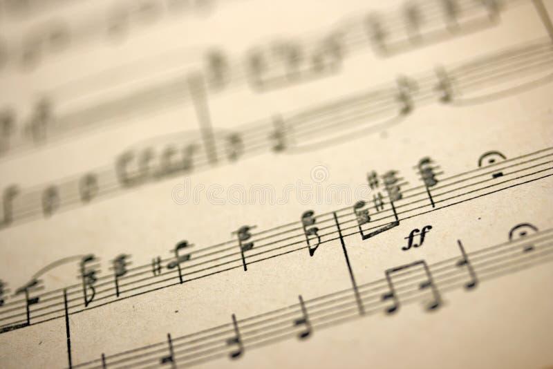 stary muzyczny opończy zdjęcia stock