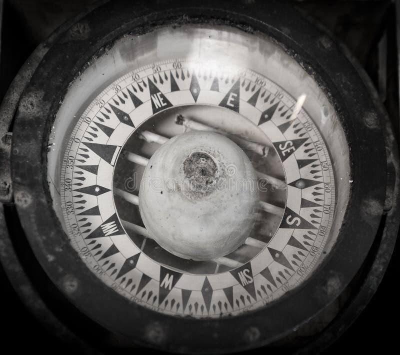 Stary Nautyczny kompas obraz stock