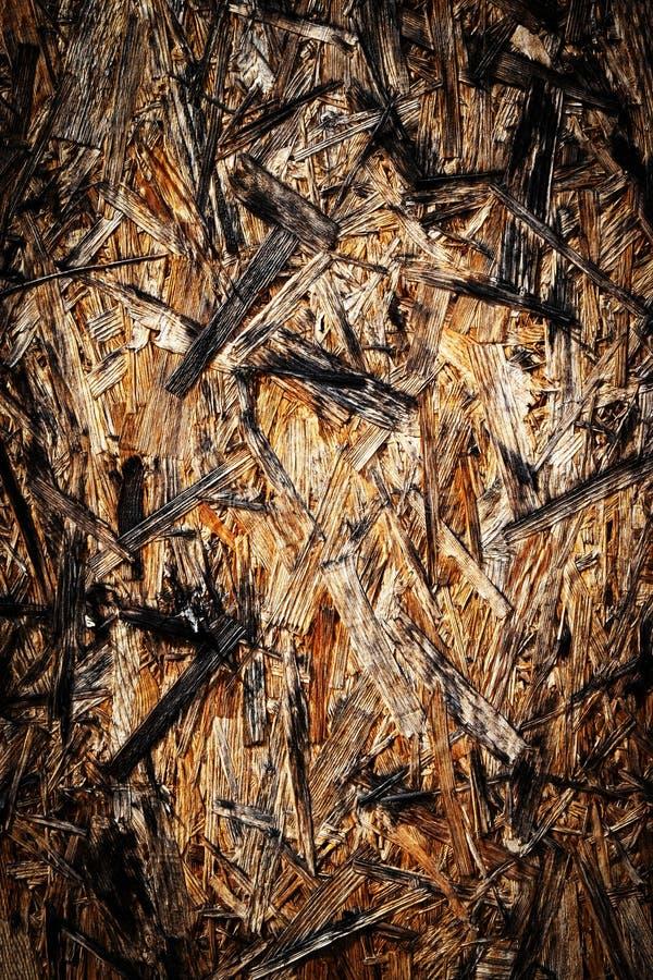 Stary nawierzchniowy drewniany fibreboard zdjęcia stock