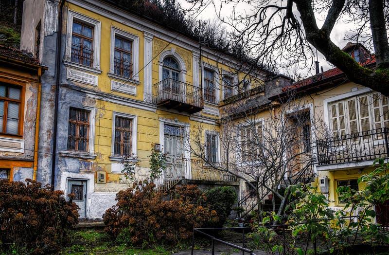 Stary neoklasyczny budynek fotografia royalty free