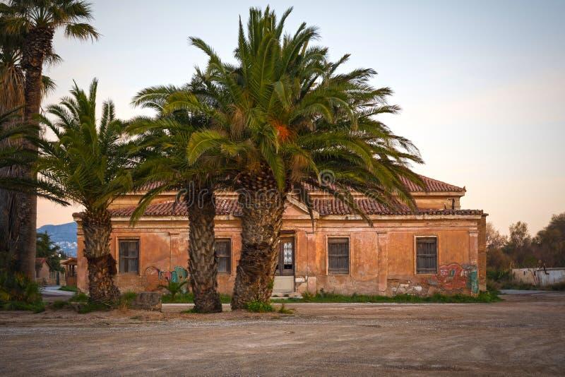 Stary neoklasyczny budynek zdjęcia stock