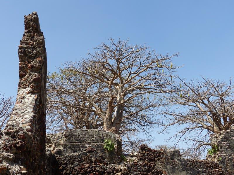 Stary niewolniczy fort obraz stock