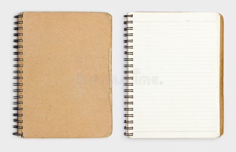 Stary notatnik fotografia royalty free