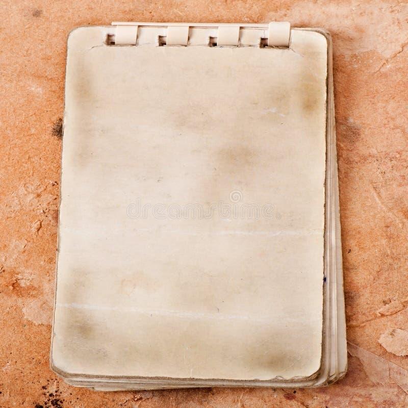 Stary notatnik zdjęcie royalty free