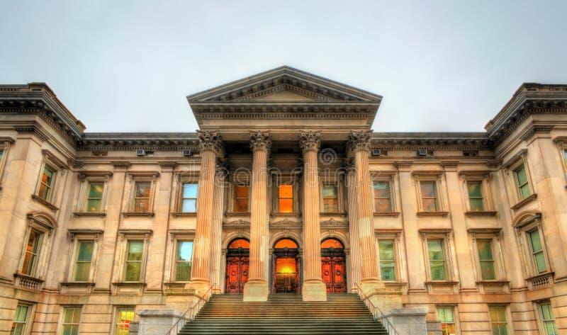 Stary Nowy Jork okręgu administracyjnego gmach sądu, także znać jako tweedu gmach sądu w Manhattan zdjęcie stock