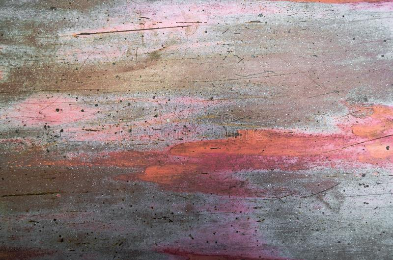 Stary ośniedziały metal textured tło obraz stock