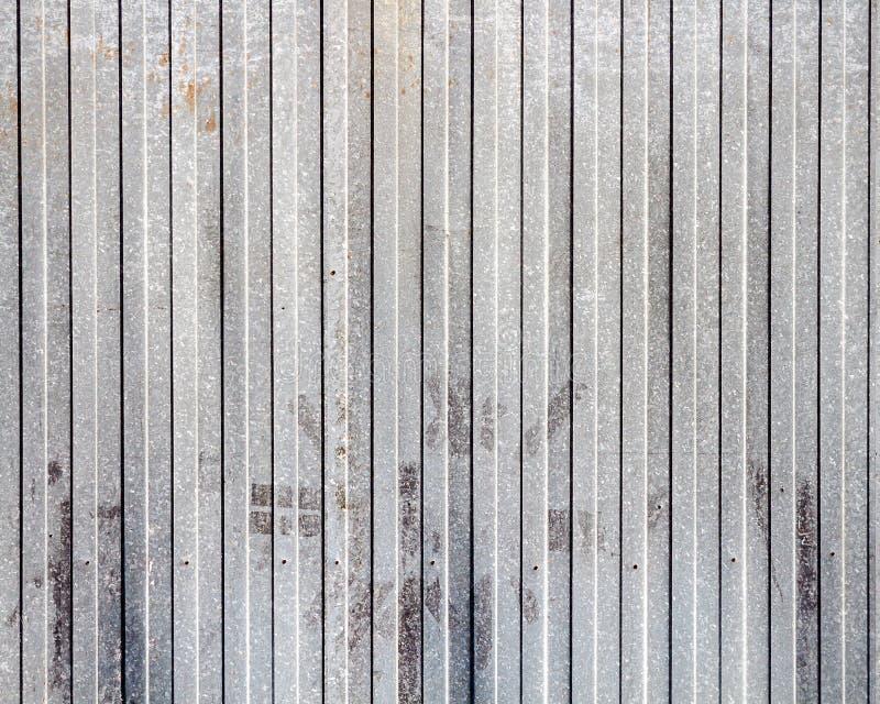 Stary ośniedziały metalu magazynu ściany tekstury tło fotografia royalty free