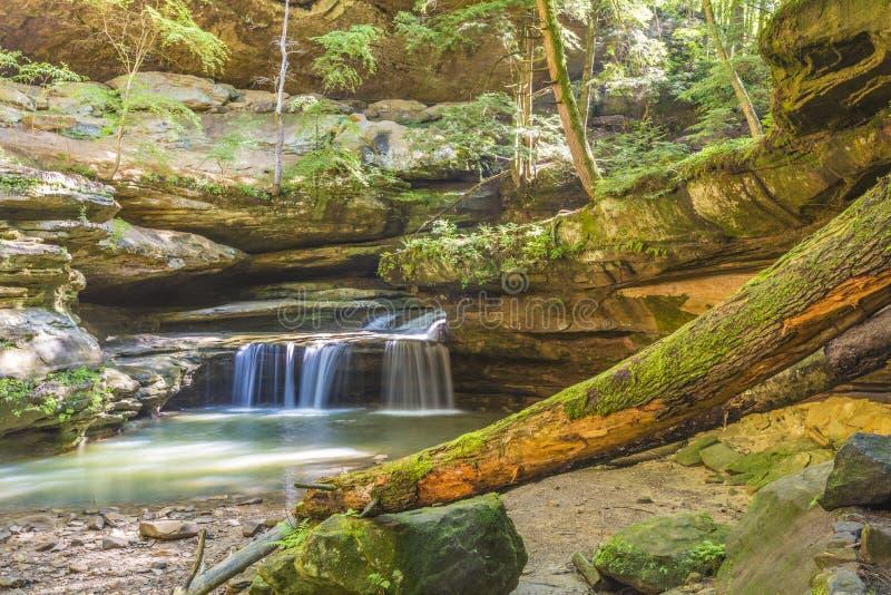 Stary obsługuje jamy Hocking wzgórze Ohio obrazy stock