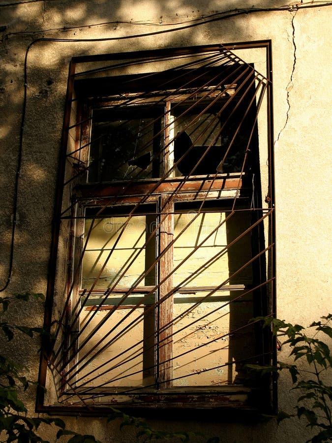 stary okna ii zdjęcia royalty free