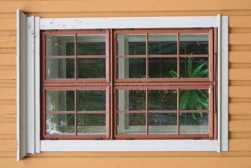 stary okno zdjęcia stock