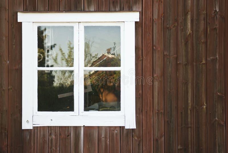 stary okno fotografia stock