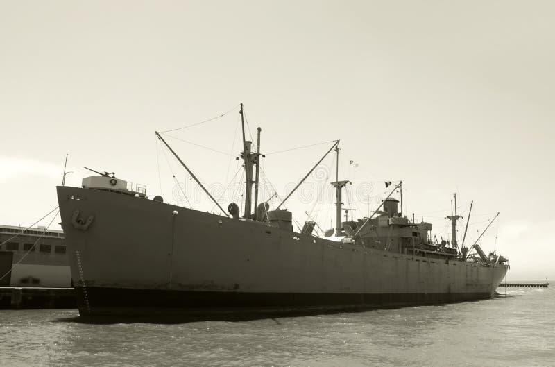stary okręt wojenny obraz stock