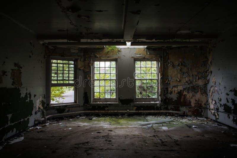 stary opuszczony budynek fotografia stock
