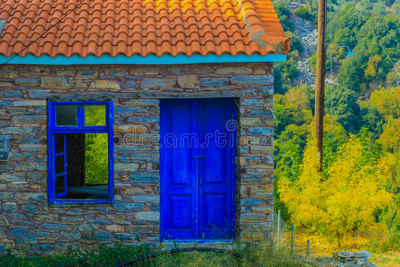stary opuszczony dom fotografia stock