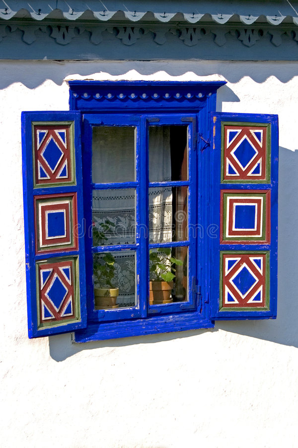 stary otwarte okno zdjęcia royalty free