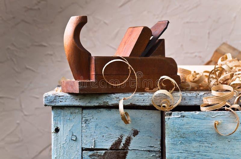 stary płaski drewna obrazy stock