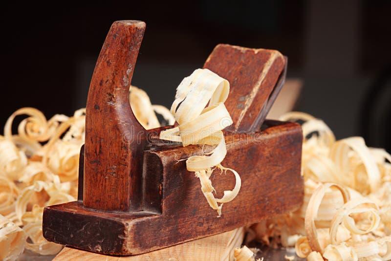 stary płaski drewna fotografia stock
