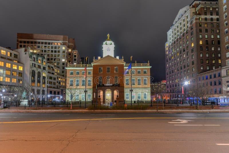 Stary Państwowy Budynek - Hartford, Connecticut obraz stock