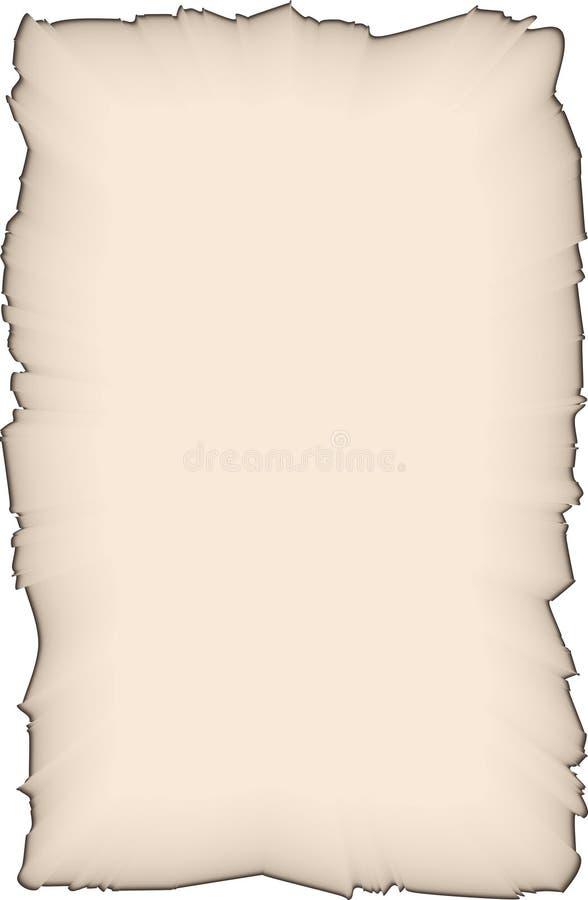 Download Stary papier ilustracja wektor. Ilustracja złożonej z kreskówka - 13326380