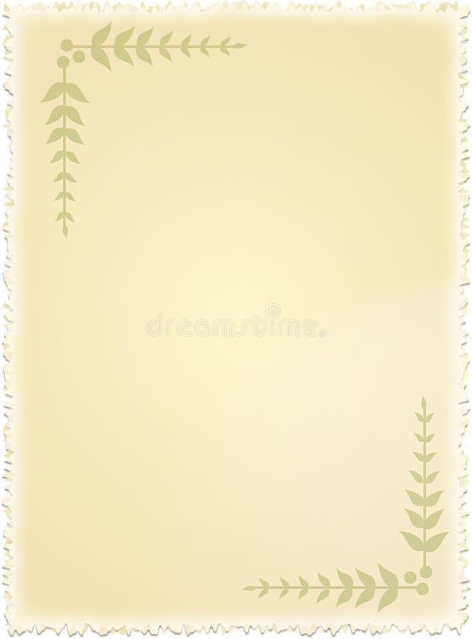stary papier ilustracja wektor