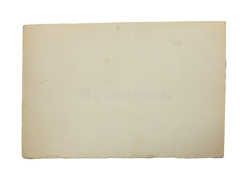 stary papier białe tło obrazy royalty free