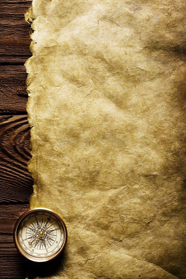 stary papier kompas zdjęcia royalty free