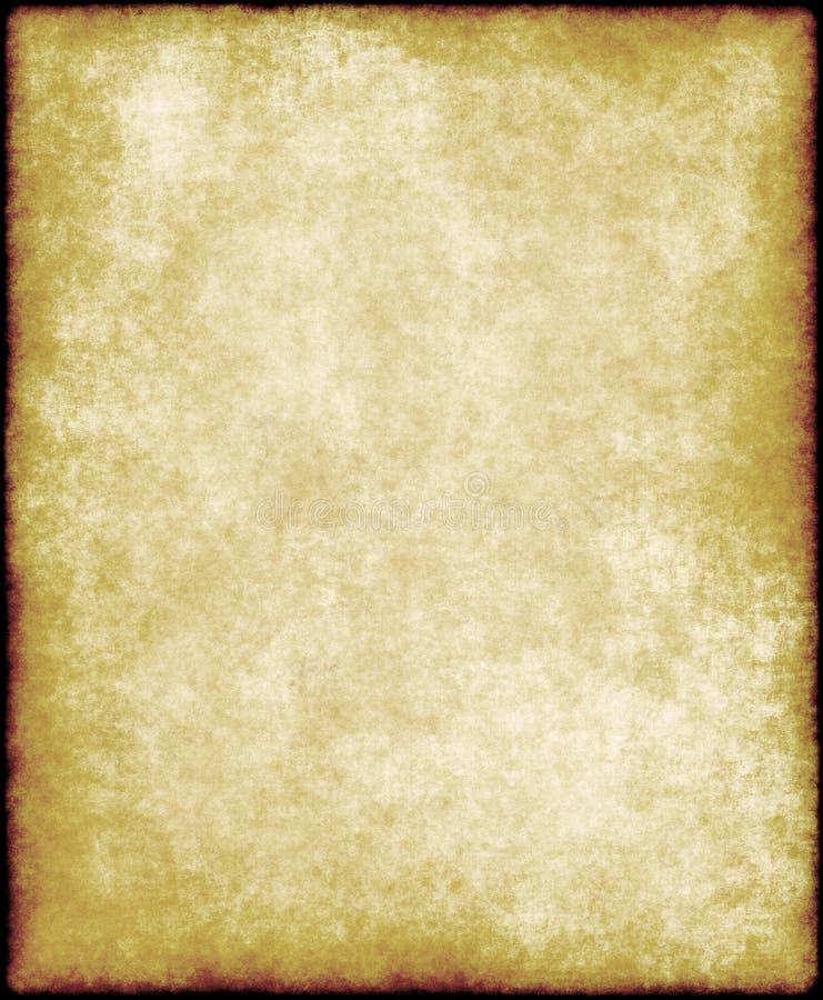 stary papier pergamin royalty ilustracja